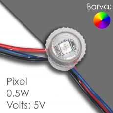 Led pixel rgb 20mm programmierbar, wasserdicht