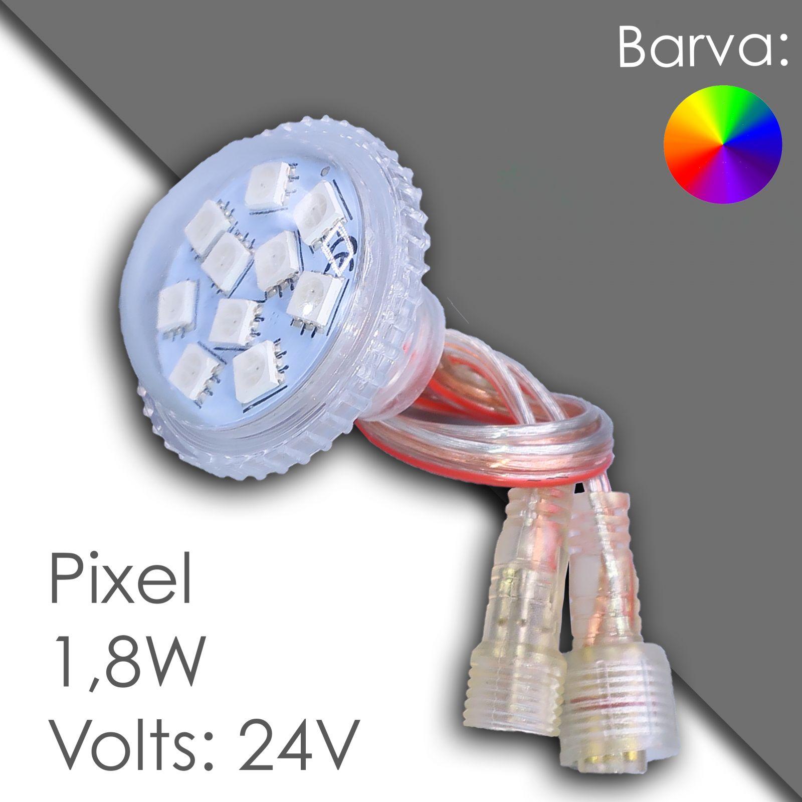 Led pixel rgb 40mm programmierbar, wasserdicht
