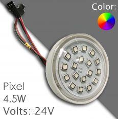 Led pixel RGB 60mm DC 24V, programmable 035