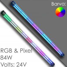LED Tube Autoscooter - 360° 24V - RGB / Pixel
